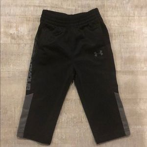 Under Armour 12 month black and gray joggers